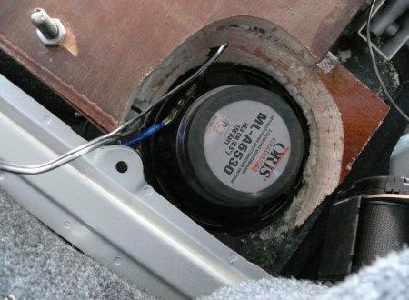 акустическая полка на ВАЗ 2110