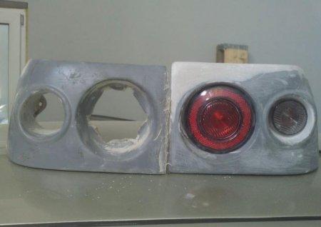 установка круглых фар на ВАЗ