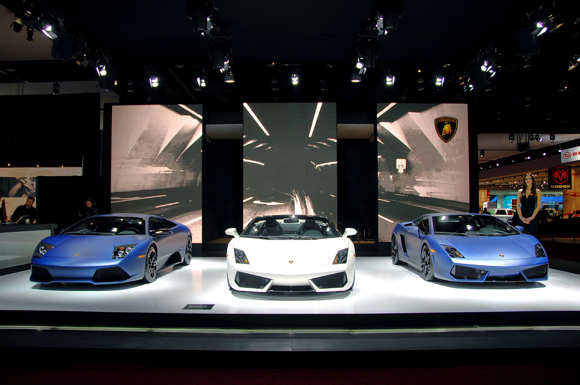 Детройт 2009: «персонализированные» Lamborghini