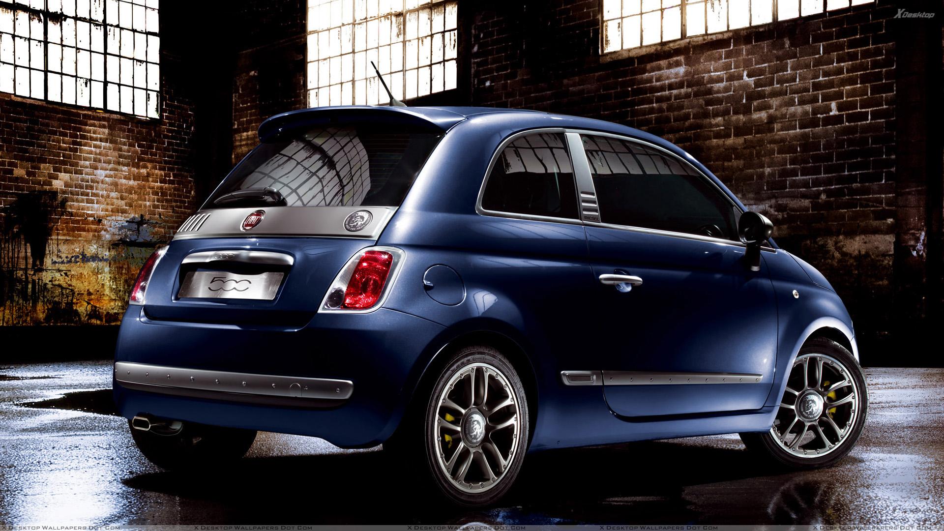 Fiat 500 Diesel Edition собираются для одноразового аукциона СПИДа
