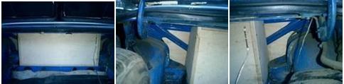 установка полки сабвуфера в ВАЗ 2105, ВАЗ 2107