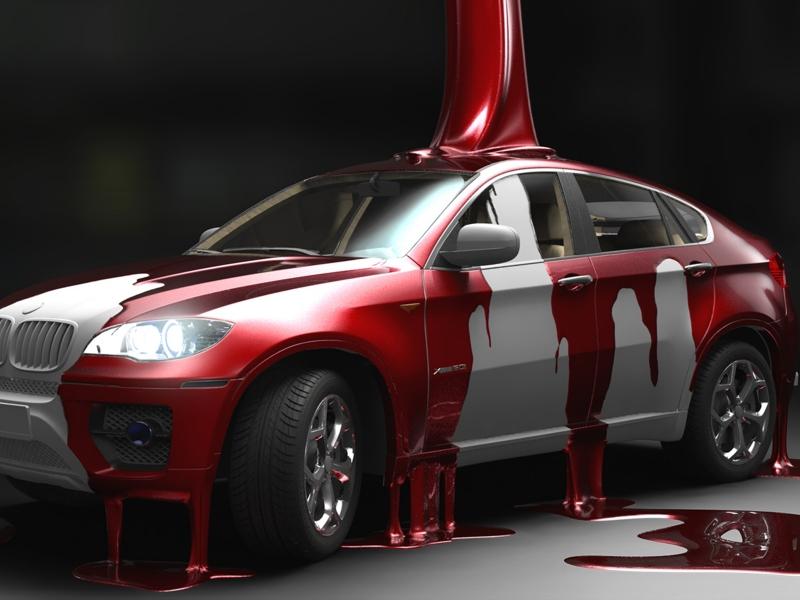 дефекты покраски машины