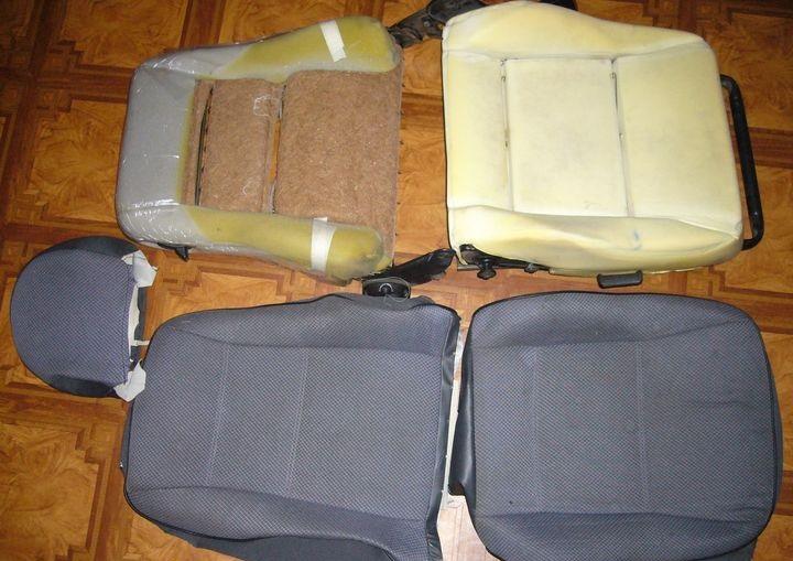 реконструкция сидений ВАЗ 2110