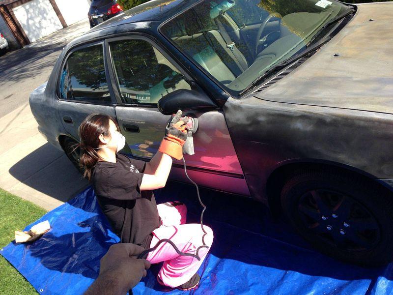Как покрасить авто