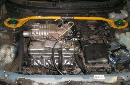 установка компрессора ВАЗ 2110