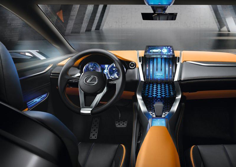 Первая партия Lexus LF