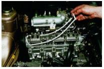 Снятие прокладки клапанной крышки движка ВАЗ