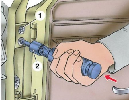 Регулируем двери на ВАЗ 2107