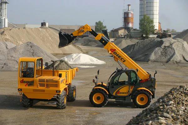 Современные строительные работы и спецтехника