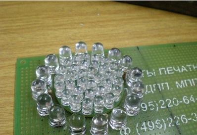 светодиодная оптика на ВАЗ 2101