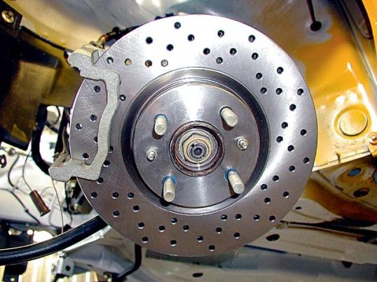 модернизация тормозной системы