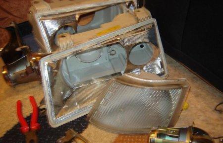 установка биксенона на ВАЗ 2110, ВАЗ 211, ВАЗ 2112