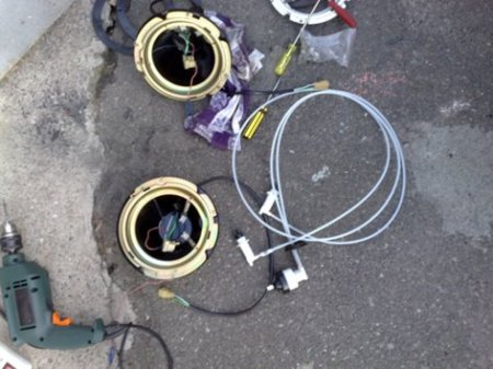 Установка гидрорегулятора фар на ВАЗ 2101