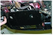 Установка защиты двигателя ВАЗ 2108 -15