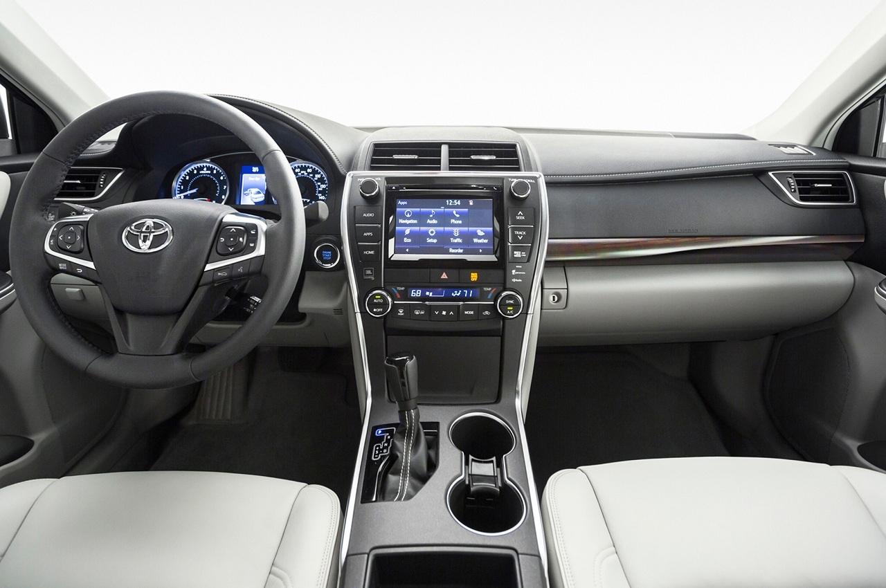 Toyota camry 2015 панель приборов