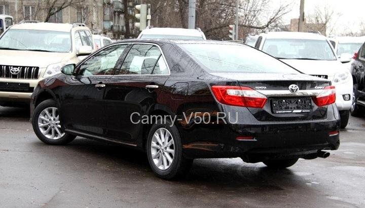 Toyota Camry V50 черный