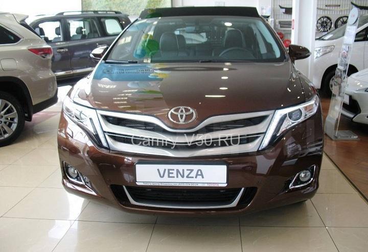 передние фары Toyota Venza
