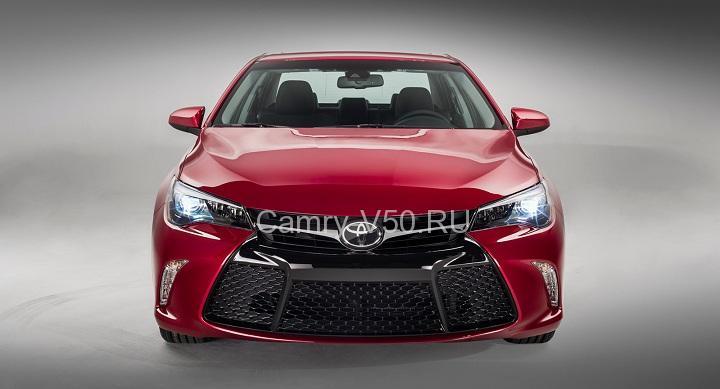 экстерьер Toyota Camry 2015
