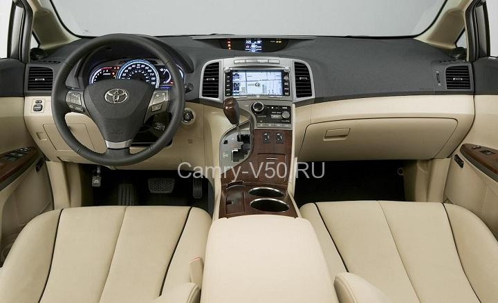 передняя панель Toyota Venza