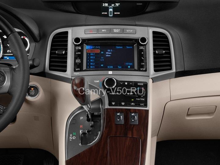 мультимедиа Toyota Venza