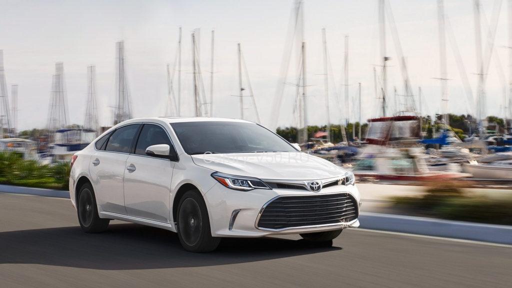 Новая Toyota Avalon уже скоро увидит свет
