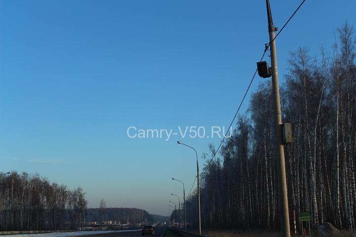 полицейский радар Автодория фото