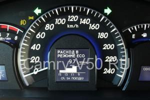 Расход бензина на автомобиле прадо