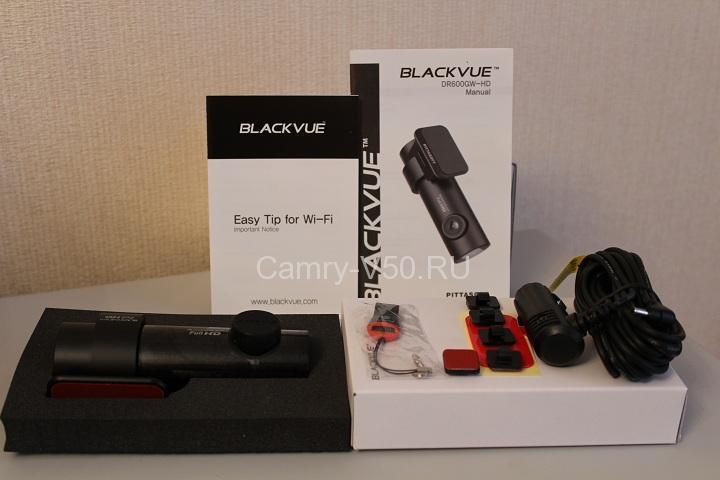 комплектация Blackvue DR600GW-HD