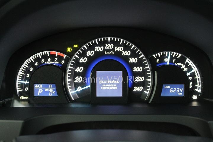 расход бензина на Toyota Camry