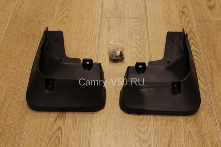 комплект брызговиков для toyota camry v50