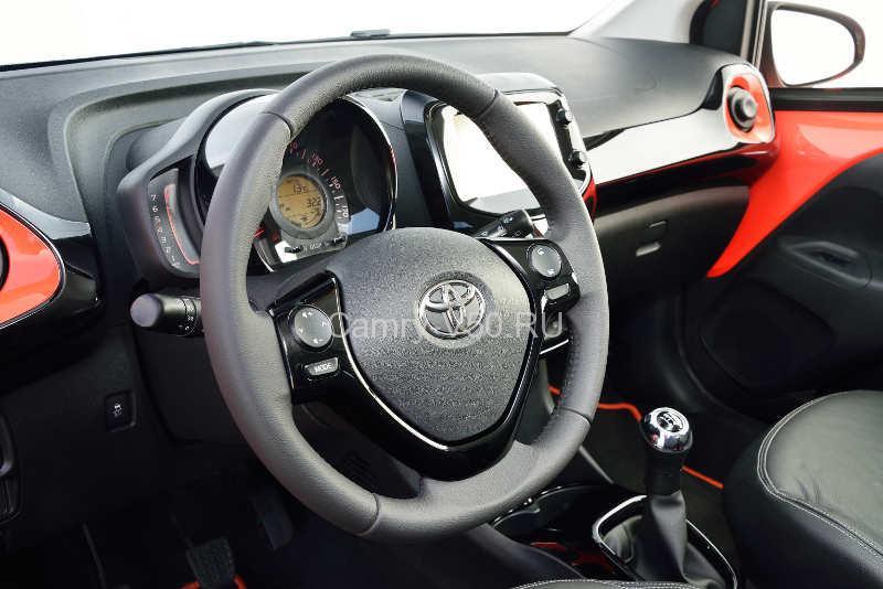 руль Toyota Aygo 2014