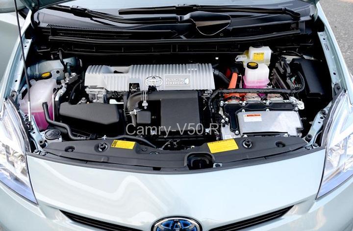гибридный двигатель Toyota Prius 2013
