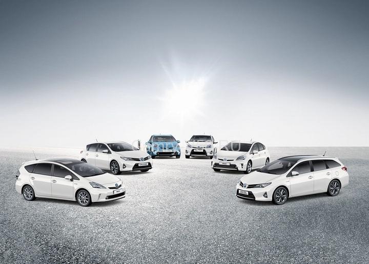 Toyota HV range_Europe