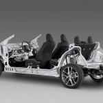 модульная платформа Toyota New Global Architecture