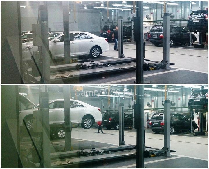 ремонтная зона Toyota центр Люберцы