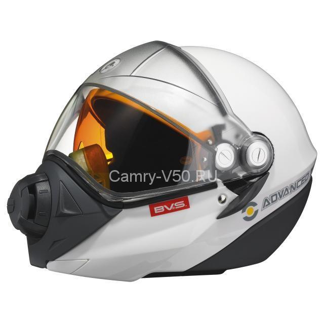 шлем для езды на снегоходе