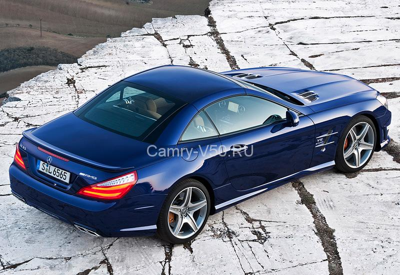 2012 Mercedes-Benz SL 65 AMG (R231); top car design rating and specifications