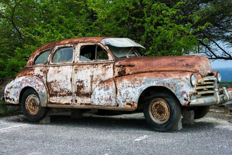 Коррозия автомобиля1