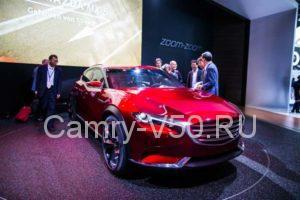 Обновленная Mazda СХ 71