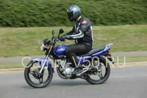 Обзор Yamaha YBR125