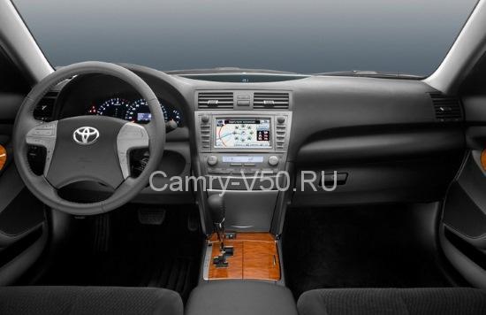 Салон Toyota Camry шестого поколения