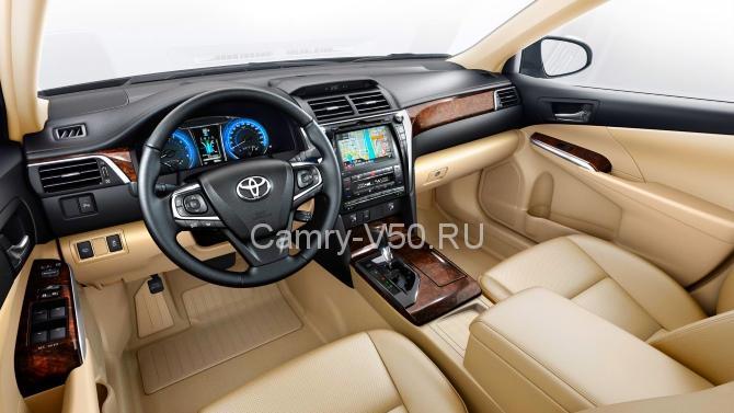Интерьер (салон) Toyota Camry