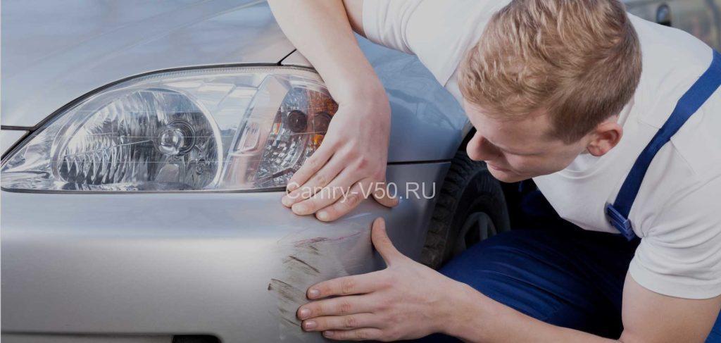 Устраняем мелкие дефекты на кузове своими руками