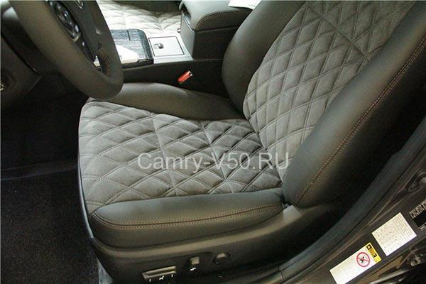 Тюнинг Тойота Камри V50 салон